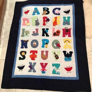 ABC Hawaiian quilt